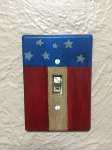 Flag Switchplate