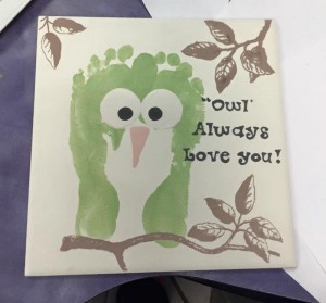 Owl footprint project