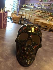 Skull in Special Glazes
