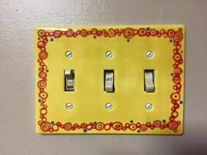 Yellow Switchplate