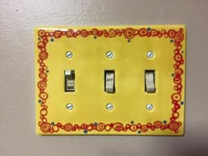 Yellow Switchplate